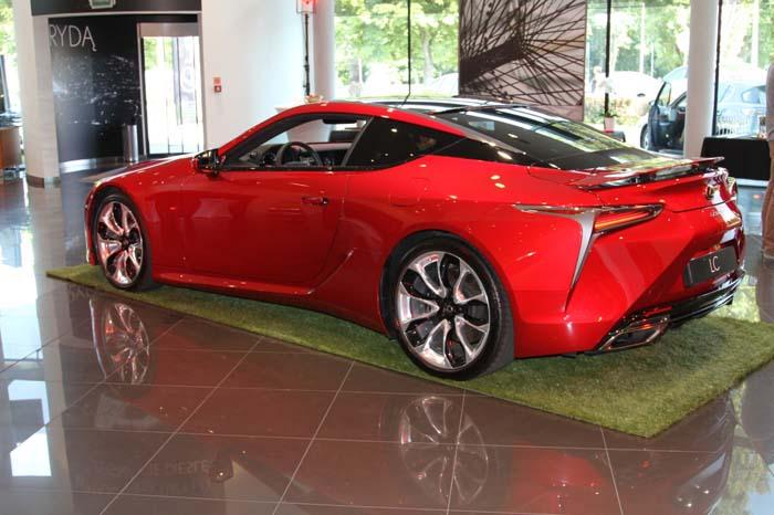 Lexus LC w Polsce
