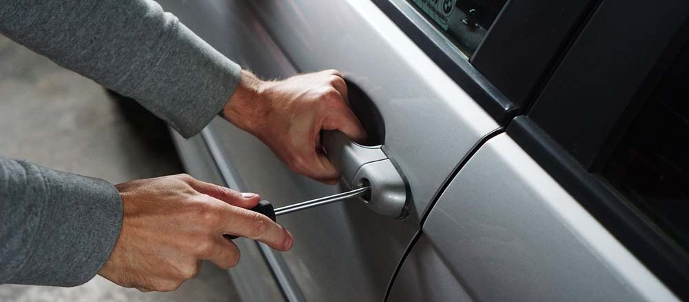 ochrona auta przez złodziejem